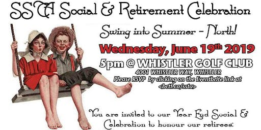 SSTA Social & Retirement Celebration - NORTH -- REVISED DATE & LOCATION