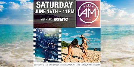 EXSTRA @ AM Southampton - Saturday 6/15 tickets