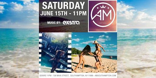 EXSTRA @ AM Southampton - Saturday 6/15