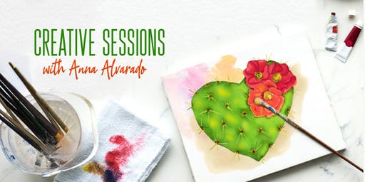 Creative Sessions with Anna Alvarado - Session 2 (Evening Class)