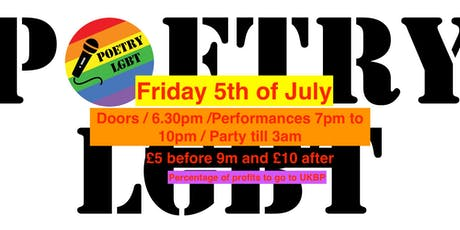 POETRY LBGT X VFD X BPUK  tickets