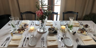 July Dinners in the Carriage House