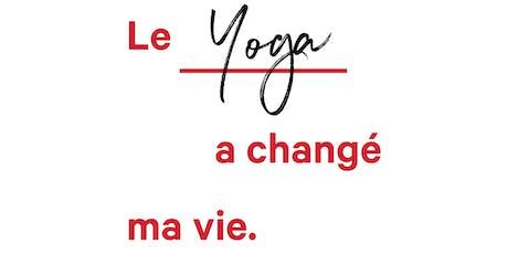 Journée Internationale du Yoga billets