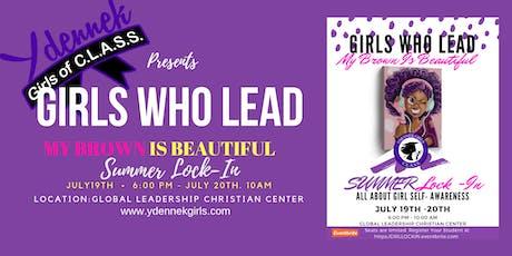 Girls Who Lead Summer LOCK-IN tickets