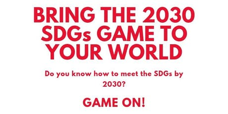 2030 SDG Game tickets