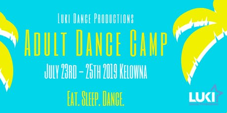 Adult Dance Camp 2019 tickets