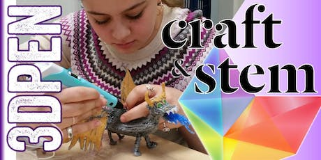 3D Pen Fun! All Day - Everyday: $10 Unlimited Materials! tickets