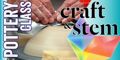Fundamentals of Clay - Adult Pottery Class - Tuesday Nights 6 to 8 pm