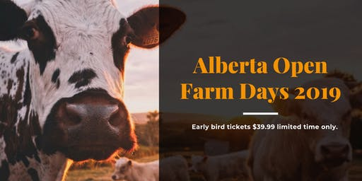 Open Farm Days Lunch and Bus Tour