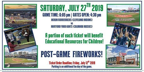 Hartford Yard Goats ERfC Fundraiser! tickets