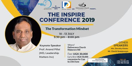 Inspire Conference 2019 - The Transformation Mindset tickets