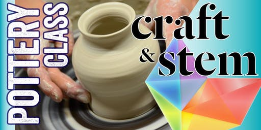 Fundamentals of Clay - Adult Pottery Class: Wednesday Morning 10:30 - 12:30