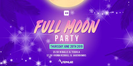 Full Moon Party @ Venue tickets