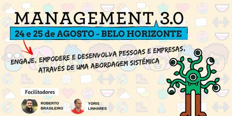 Management 3.0 - BH - Turma Agosto ingressos