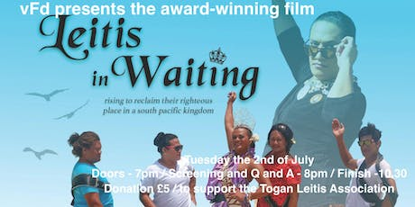 Screening / Leitis in waiting X VFD X UKBP tickets