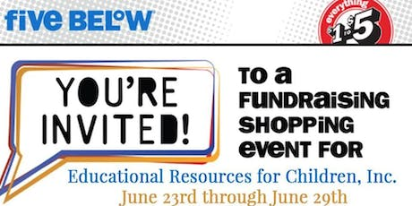 ERfC June Five Below Fundraiser tickets