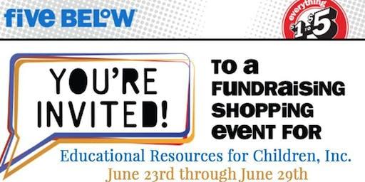 ERfC June Five Below Fundraiser