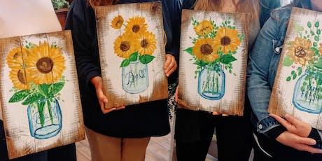 Sunflower Paint Night tickets