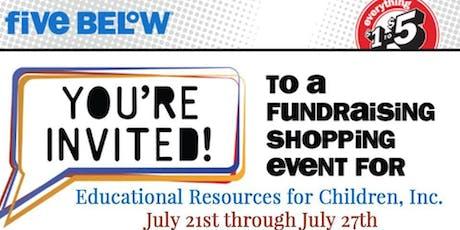 ERfC July Five Below Fundraiser tickets