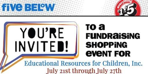 ERfC July Five Below Fundraiser