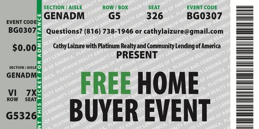 Home Buyer Educational Workshop - Laizure