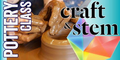 Fundamentals of Clay - Adult Pottery Class - Saturday Afternoons tickets