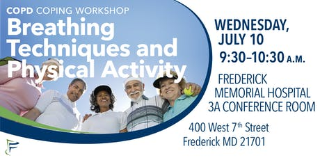 COPD Coping Workshop: Breathing Techniques & Physical Activity tickets