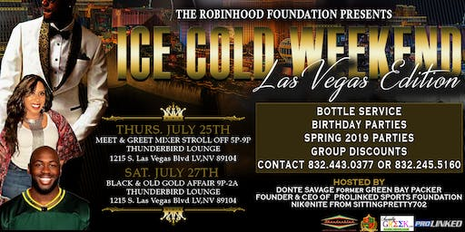Ice Cold Weekend Las Vegas Edition