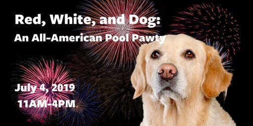 Red, White and Dog: An All-American Pool Pawty