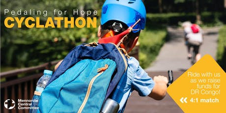 MCC BC's 11th Annual Pedaling for Hope Cyclathon tickets
