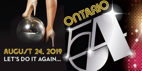 Ontario 54 Disco tickets