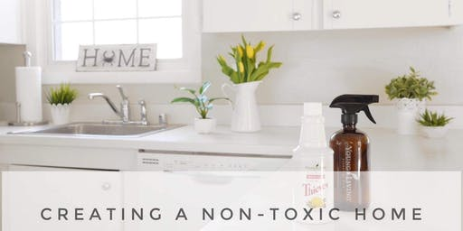 Creating a Non-Toxic Home (Webinar):  Health for your Home