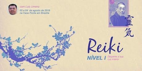 Formação em Reiki I com Luis Gustavo Umeno ingressos