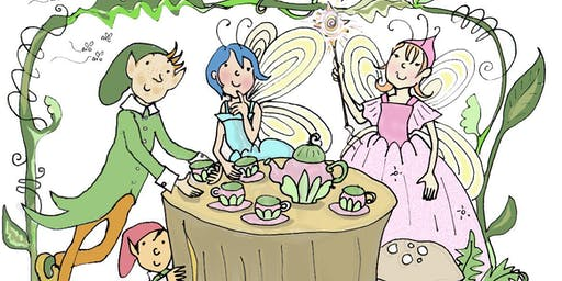 Fairies: Crafts & Cupcakes (all kid ages)