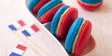 Baking Class | Bastille Day Macarons in Blue, White, and Red! tickets