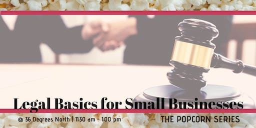 Legal Basics for Small Businesses | The Popcorn Series