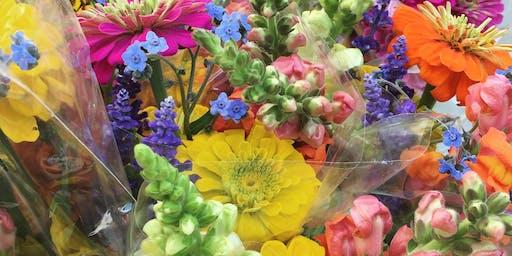 DIY Summer Flower Arrangements at Green City Market