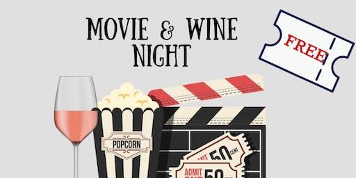 Movie & Wine Night - FREE EVENT