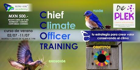 Chief Climate Officer Training entradas