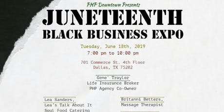 Juneteenth Black Business Expo tickets