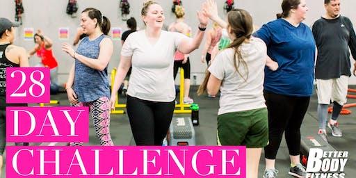 BBF 28 Day Challenge Orientation