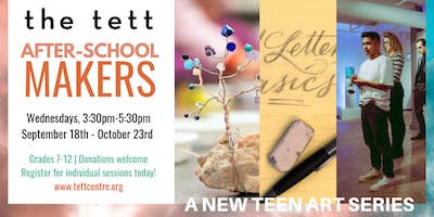 After-School Makers: Copper Pendants with Valerie Thomas