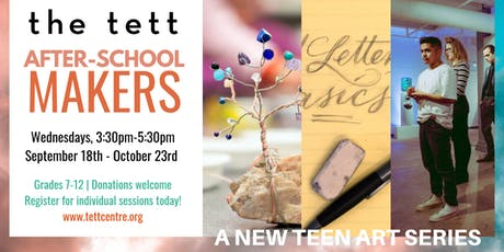 After-School Makers: Copper Pendants with Valerie Thomas tickets