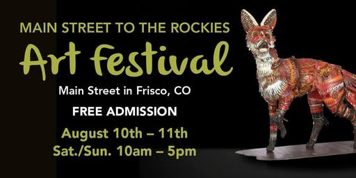 13th Annual Main Street to the Rockies Art Festival