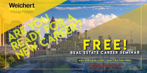 Free! Real Estate Career Seminar