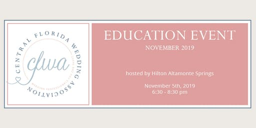 CFWA November Education Event at Hilton Altamonte Springs