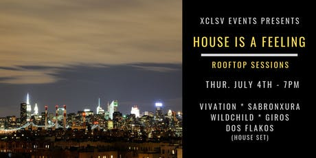 House Is A Feeling Rooftop Party tickets