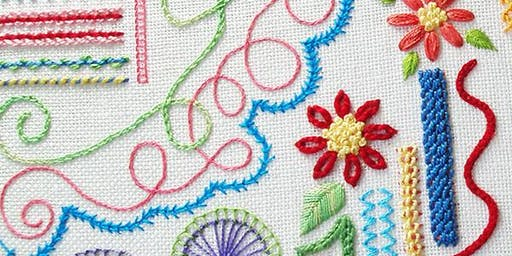 Cheltenham Library - The Embroiderers' Guild National Celebration of Stitch