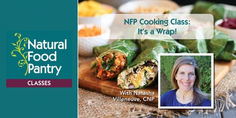 NFP Cooking Class:  It's a Wrap! tickets