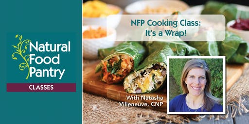 NFP Cooking Class:  It's a Wrap!
